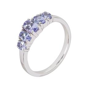Ring 925 Sterling Silber, AATansanit