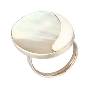 Ring 925 Sterling Silber Perlmutt