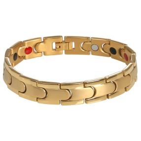 Armband Titan vergoldet, ca. 22 cm