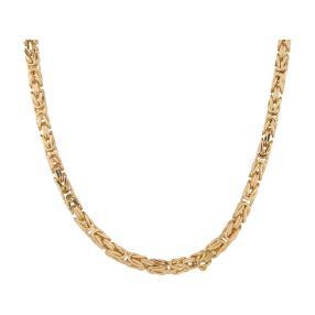 Königskette 585 Gelbgold, ca. 50 cm