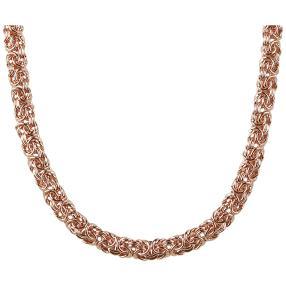 Königskette Bronze, rosévergoldet