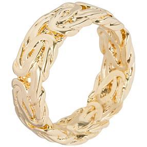 Ring Bronze vergoldet