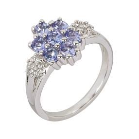 Ring 925 Sterling Silber AATansanit