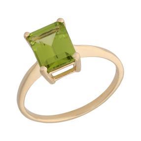 Ring 375 Gelbgold, Peridot