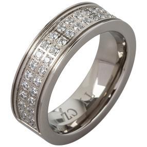 Eternity Ring Titan, Zirkonia