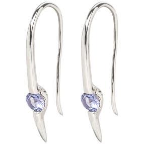 Ohrhänger 925 Sterling Silber, Tansanit