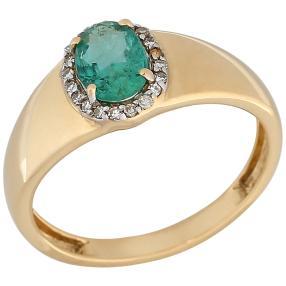Ring 585GG Sambia Smaragd