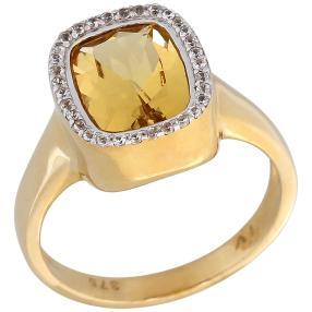 Ring 375 Gelbgold, Goldberyll