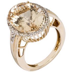 Ring 585GG Goldberyll