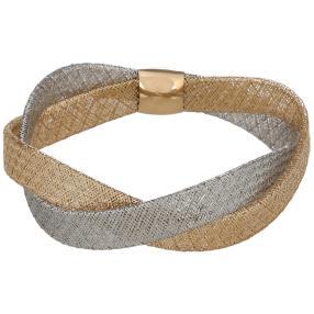 Flexarmband 585 bicolor