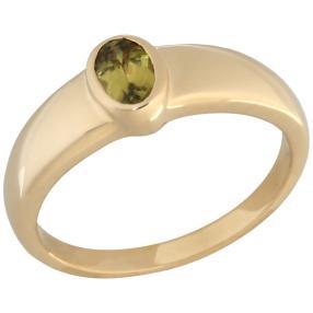 STAR Ring 585 Gelbgold AAATitanit