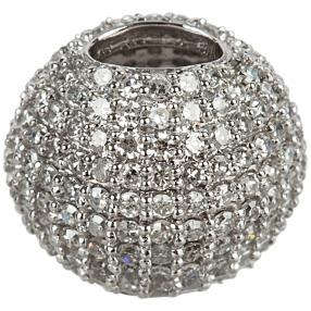 Anhänger 585 Weißgold Diamanten