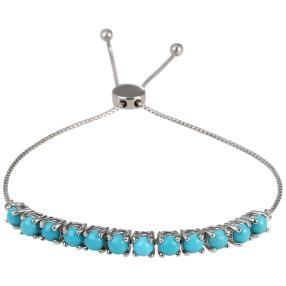 Armband 925 Sterling Silber Sleeping Beauty Türkis