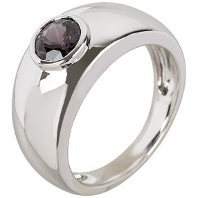 Ring 925 Sterling Silber Spinell violett