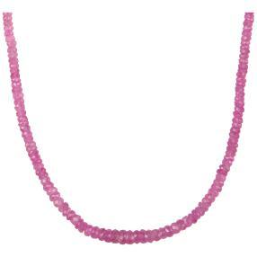 STAR: Collier Pink Saphir