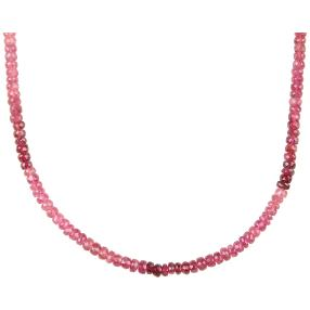 STAR Collier AAA Turmalin pink