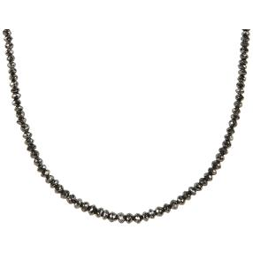 STAR Collier Diamanten schwarz
