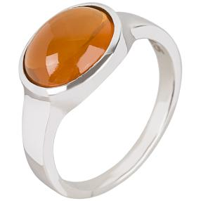 Ring 925 Sterling Silber, Feueropal