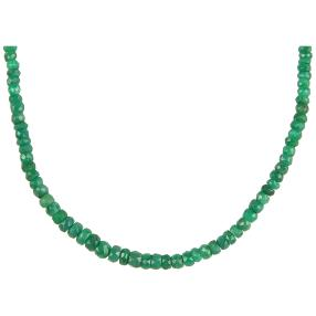 Collier Smaragd
