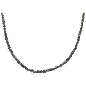 Collier Diamant schwarz