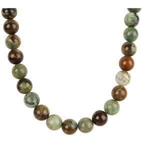 Collier Opal grün