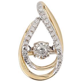 Anhänger 585 Gelbgold Dancing Diamonds