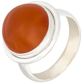 Ring 925 Sterling Silber Karneol