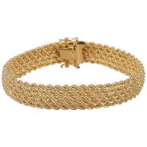 Armband 750 Gelbgold ca. 19,5 cm