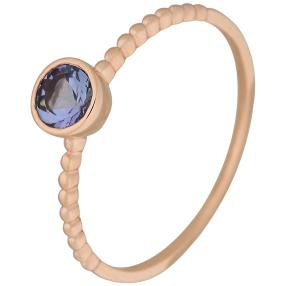 Ring 375 Roségold Tansanit