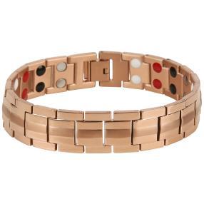Armband Titan, rosévergoldet