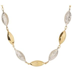 Collier 585 Gold bicolor