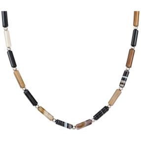 Collier Achat, Onyx