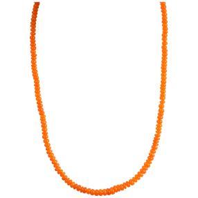 Collier Orange Opal