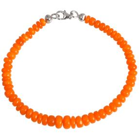 Armband Orange Opal