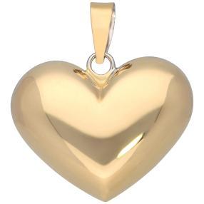 Wendeanhänger 585 Gelbgold Herz