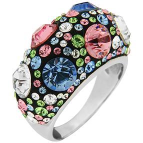 Ring 925 Sterling Silber Swarovski Elements