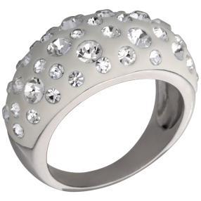 Ring 925 Sterling Silber Swarovski Elements weiß