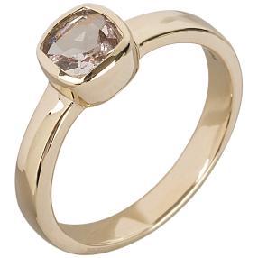 Ring 585 Gelbgold Morganit