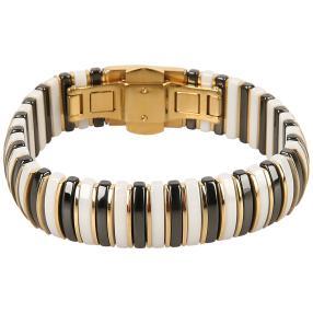 Armband Edelstahl, Keramik