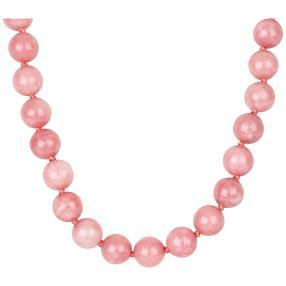 Marmorcollier rosa