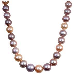 Edison Perlenkette, ca. 45,5 cm, Magnetverschluss