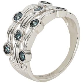 Ring Diamant 925 Sterling Silber