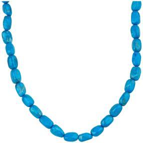 Collier Howlith blau, ca. 45 + 4 cm