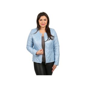 KIRSTEN Damen-Steppjacke 64 cm, blau