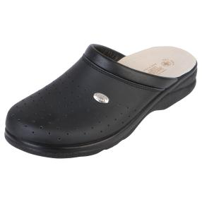 SANITAL LIGHT Herren-Pantolette Leder