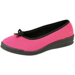 Comando by PANTO FINO Damen-Slipper pink/schwarz