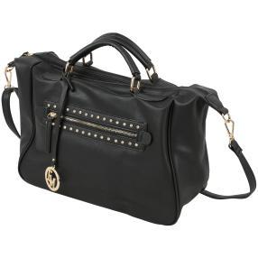 Emma&Kelly Tasche mit Glitzersteinen, schwarz