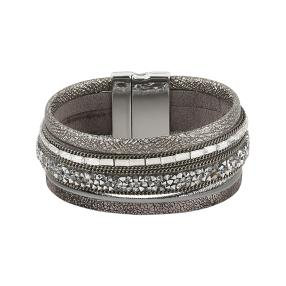 crystal blue Magnet Armband