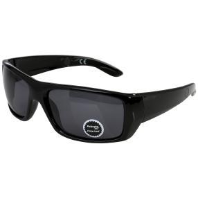 Polarlyte Sonnenbrille, schwarz