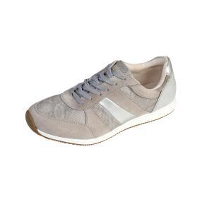 new look Damen-Sneaker silber Soft Touch, hellgrau